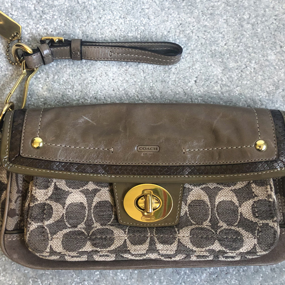 Coach Handbags - Limited Edition Coach Clutch